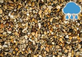 casafino Flusskiesel Bunt 8-16 mm 25 kg
