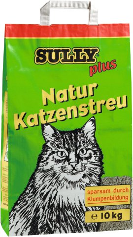 SULLY Katzenstreu Natur 10 kg