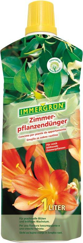 IMMERGRÜN Zimmerpflanzendünger 1 l