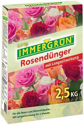 IMMERGRÜN Rosendünger mit Langzeitwirkung 2,5 kg