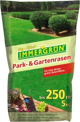 IMMERGRÜN Park- und Gartenrasen 5 kg