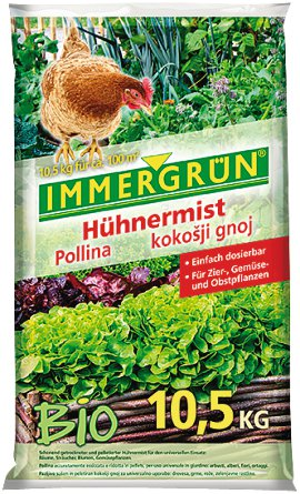 IMMERGRÜN Bio-Hühnermist 10,5 kg