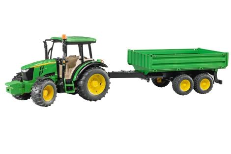 traktor 5115m mit anh nger lagerhaus. Black Bedroom Furniture Sets. Home Design Ideas