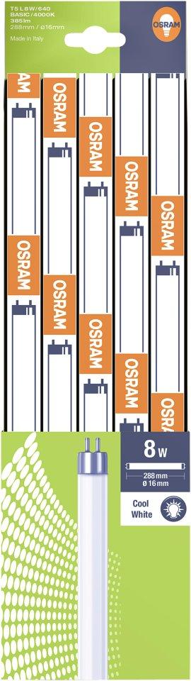 OSRAM Leuchtstofflampe Basic T5 8 W