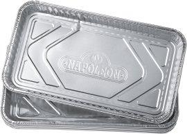NAPOLEON Einweg-Fettauffangschale aus Aluminium 36x19,7cm, 5 Stk.