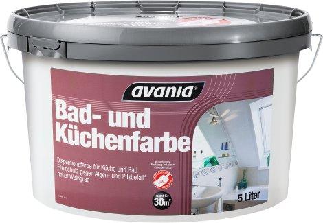 AVANIA Bad- und Küchenfarbe 5 l | Lagerhaus