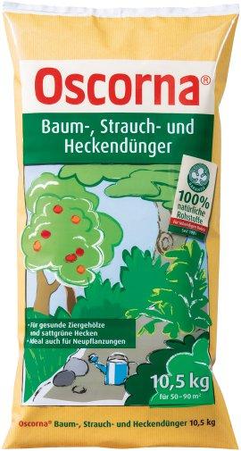 OSCORNA Baum-, Strauch- und Heckendünger 10,5 kg