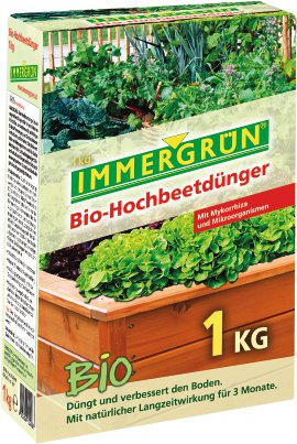 IMMERGRÜN Bio-Hochbeetdünger 1 kg