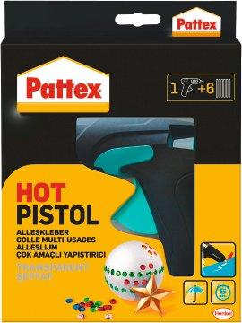 Pattex Pistole Starterset mit 6 Patronen