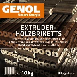 GENOL Extruder Briketts