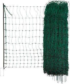 Geflügelnetz PoultryNet Einzelspitze grün 112 cm
