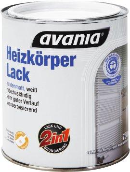 AVANIA Heizkörperlack seidenmatt 750 ml