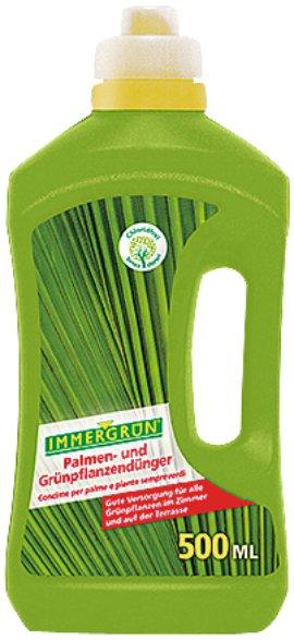 IMMERGRÜN Palmen- und Grünpflanzdünger flüssig 0,5 l