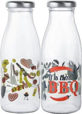 Grillsaucenflasche mit Druckbild 250 ml