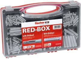 FISCHER Spreizdübel SX/UX Dübelbox Rot