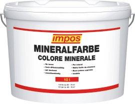 IMPOS Mineralfarbe weiß 10 l