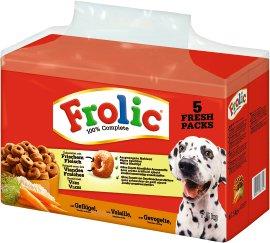 FROLIC Hundenahrung Geflügel+Gemüse+Reis