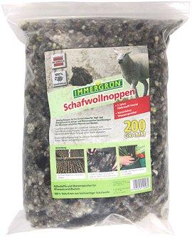 IMMERGRÜN Bio Schafwollnoppen 200 g
