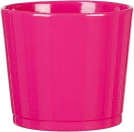 Keramikübertopf 883 Glossy Pink