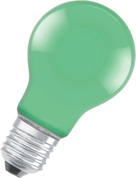 OSRAM LED-Birne STAR CLA DEC-grün E27 4W