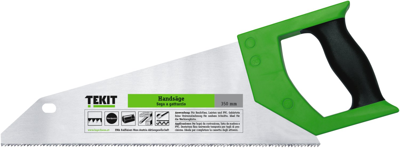 tekit handsäge für tool-box 2k-griff, 350 mm | lagerhaus