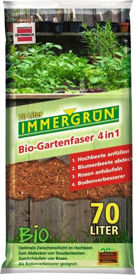 IMMERGRÜN Bio-Gartenfaser 4in1, 70 l