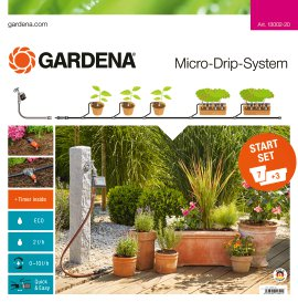GARDENA Micro-Drip-Sytem Starter Set Pflanztöpfe automatic