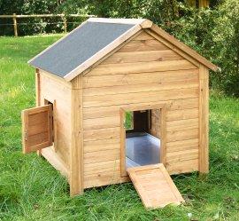 Kleintierstall für Hühner oder Kaninchen, 105x100x108 cm
