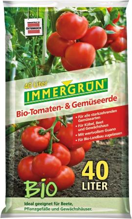 IMMERGRÜN Bio Tomaten- und Gemüseerde 40 l