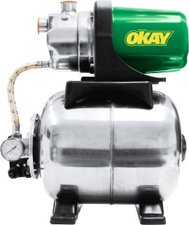 OKAY Hauswasserwerk 3500 INOX