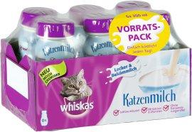 WHISKAS Katzen-Milch 6x200ml