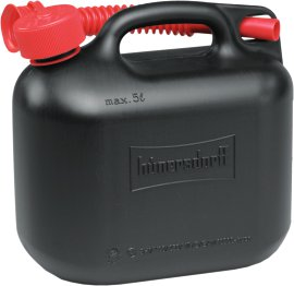 Benzinkanister schwarz 5 l