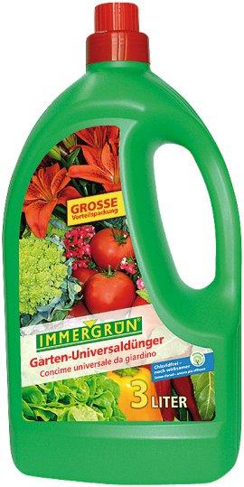 IMMERGRÜN Garten-Universaldünger 3 l