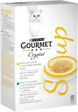 GOURMET Soup Huhn und Gemüse 4x40 g