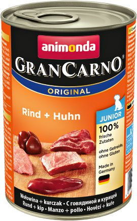ANIMONDA GranCarno Junior Rind+Huhn