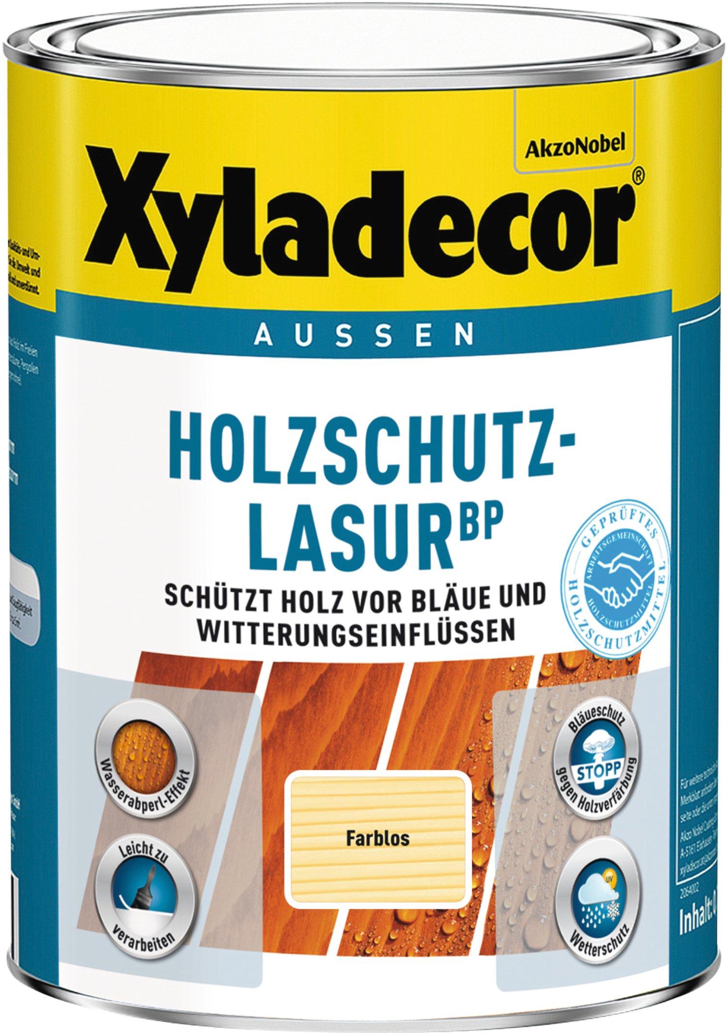 xyladecor holzschutz-lasur bp farblos 1 l   lagerhaus
