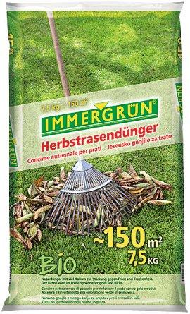 IMMERGRÜN Bio-Herbstrasendünger 7,5 kg