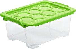 ROTHO Aufbwahrungsbox EVO safe grün 11 l
