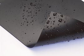 Teilfolie AlfaFol schwarz 0,5 mm