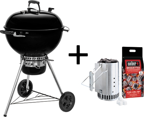 Weber Holzkohlegrill Gbs : Weber holzkohlegrill master touch gbs e exclusivset inkl