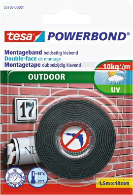 TESA Powerband Montageband Outdoor