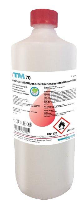 TM 70 Desinfektion - 1L - Nachfüllflasche