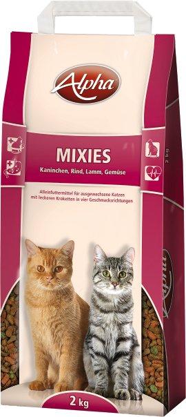 ALPHA Mixies Katzennahrung Kaninchen+Rind+Lamm