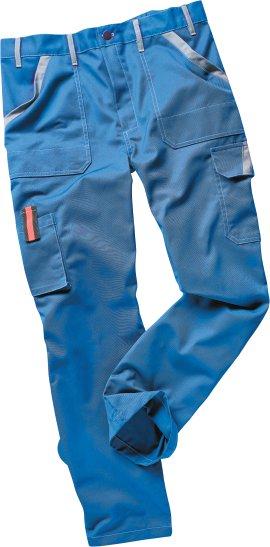 WERKSTOFF Bundhose Basic blau/grau 44