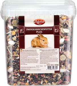 ALPHA Zwergkaninchenfutter Plus 3 kg