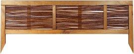 WINDHAGER Beet-Einfassung Weide gerahmt 36x100 cm