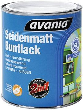 AVANIA Buntlack seidenmatt moos-grün 2,5 l