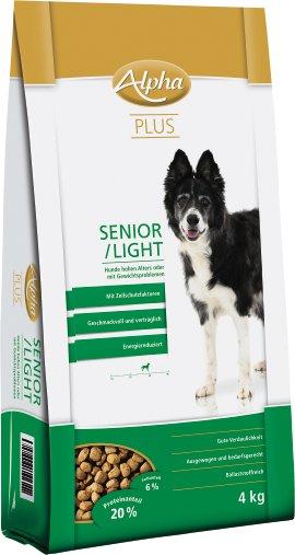 ALPHA PLUS Senior/Light 4 kg