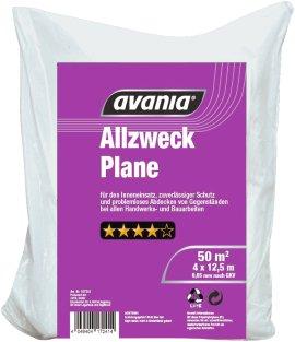 AVANIA Allzweck-Abdeckplane 4x12,5 m
