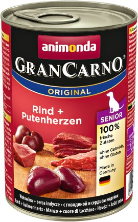 ANIMONDA GranCarno Senior Rind+Pute